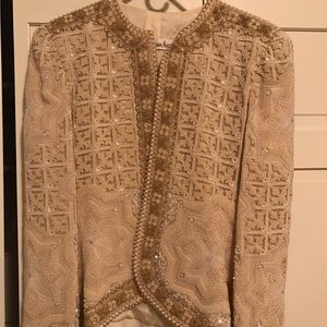 Exquisite beaded jacket
